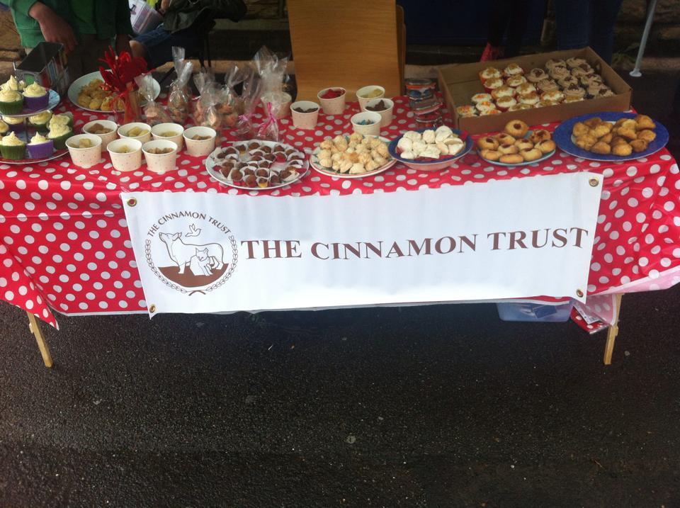 Broomhill Vets Cinnamon Trust Cake Stall